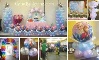 Frozen Balloon Decorations Frozen Disney Cebu Balloons And Party Supplies