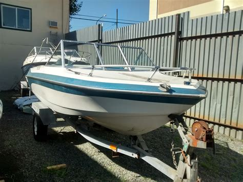 runabout deck boat swiftsure 16 closed deck runabout 1980 used boat for sale