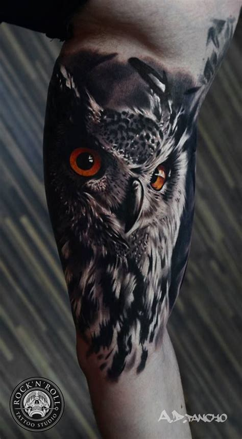 owl tattoo realism owl tattoo designs meaning best tattoos 2017 designs
