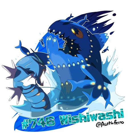 Shiny Roboquad Cutely Terrifying Or Terrifyingly shiny dex drawing 6 wishiwashi are so terrifyingly