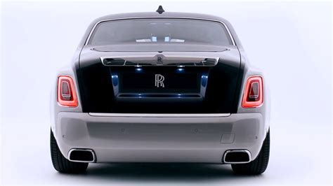 rolls royce phantom rear 2018 rolls royce phantom design youtube