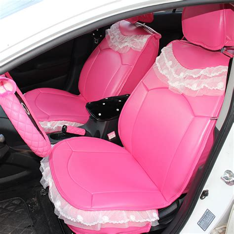 pink car seat cover popular pink leather car seat covers buy cheap pink