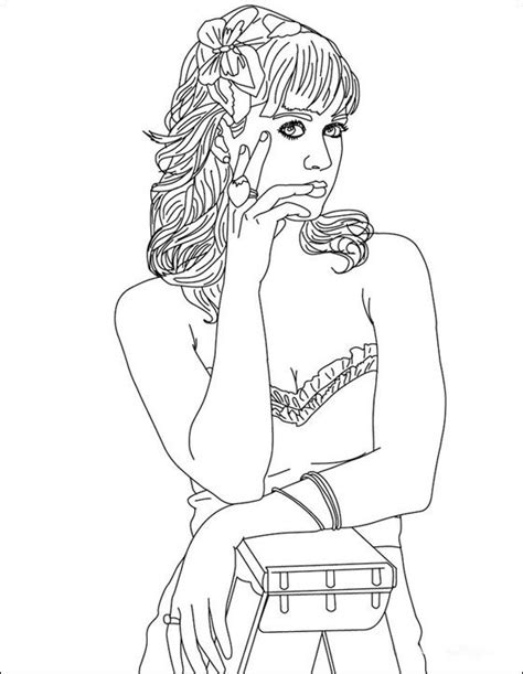 katy perry coloring pages katy perry coloring book