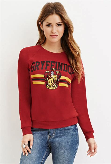 Forever Sweatshirt by Gryffindor Graphic Sweatshirt Forever 21 Harry Potter