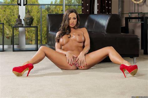 abigail mac in sexy red heels posing for your pleasure my pornstar book