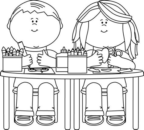 kid clipart black and white clip black and white black and white in