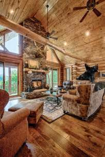 Log Home Interiors Images 25 Best Ideas About Log Cabin Homes On Pinterest Cabin
