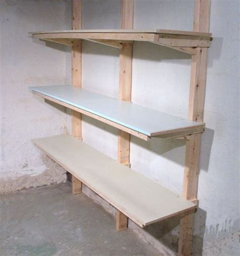 how to build wall mounted bookshelves 104 best garage wall mounted storage images on