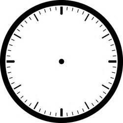 clip templates free clock template clipart best