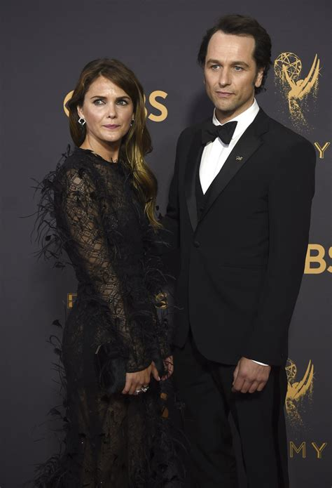 matthew rhys has won an emmy 2017 emmys couples on the emmy red carpet business insider