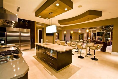 Wheeled Kitchen Islands by 48 Luxury Dream Kitchen Designs Worth Every Penny Photos