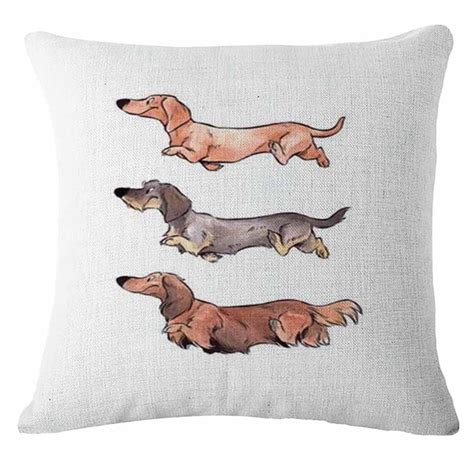 pillows for small dogs dachshund throw pillow cushion cover home