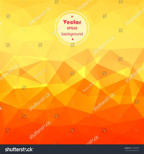 yellow geometric background design vector from free vector vector yellow orange modern geometric background stock