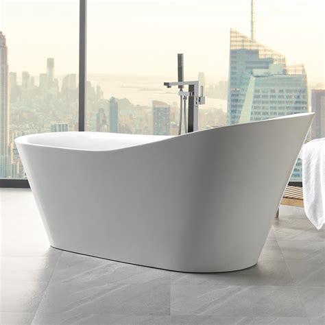 high end bathtub eviva emely acrylic tub 71 free standing high end bathtub