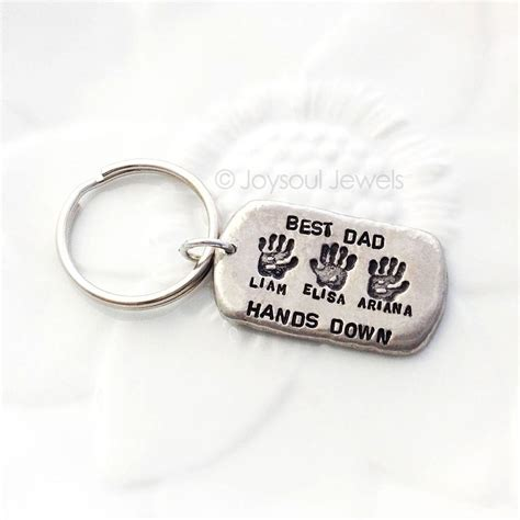 best personalized tag key chain gift