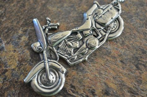motorcycle necklace by hi octane jewelry hi octane