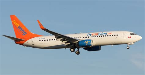 swing airlines sunwing airlines reviews and flights with photos