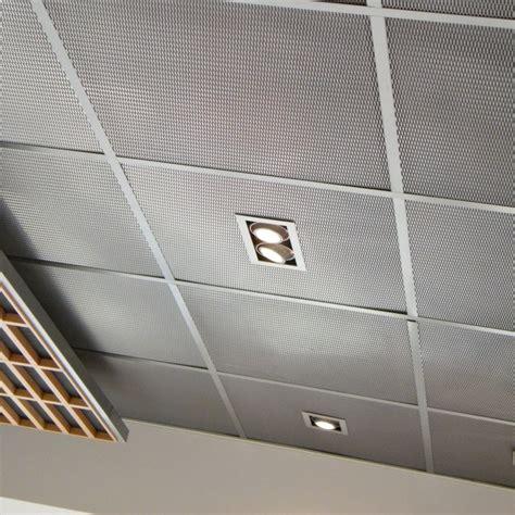 Dalle De Plafond Suspendu 60x60 by Plafond En Dalle 60x60 Maison Travaux