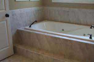 17 best ideas about tile tub surround on tub