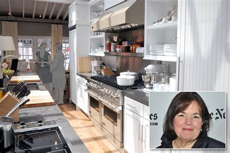 ina garten house floor plan amazing spaces blog the home kitchens of famous chefs
