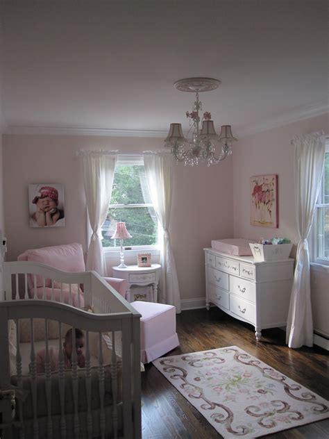 avas pink  white shabby chic nursery project nursery