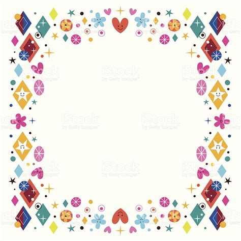 cornici da stare gratis colorate shaped frame clipart collection