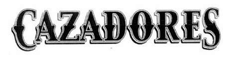 cazadores logo cazadores trademark of bacardi company limited serial