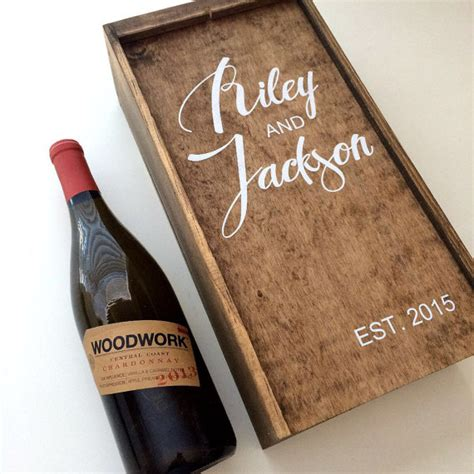 Wedding Ceremony Wine Box by Wedding Wine Box Fight Box Wedding Wine By Freestylemom