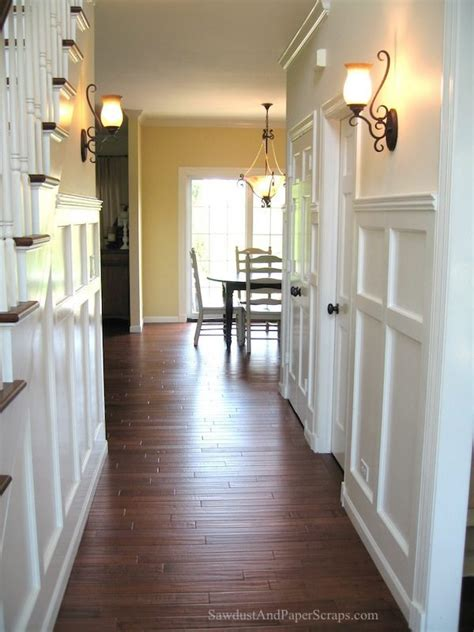 Wainscoting Hallway by Entry Wainscoting Sawdust 174