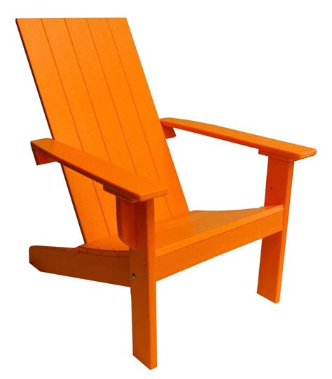 modern adirondack chairs modern adirondack chair with square back made from poly