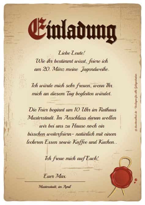 Muster Einladung Jugendweihe Kostenlos Lustige Einladung Zum Essen Cloudhash Info