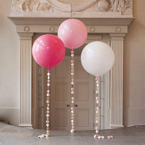 Large Pink Balloon baby pink circle balloon by bubblegum balloons notonthehighstreet
