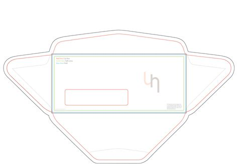 number 10 envelope template templates uhprint