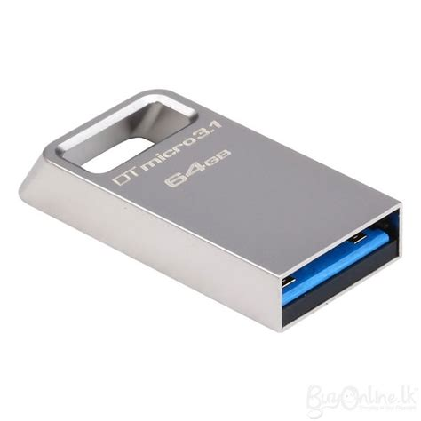 Usb Flashdisk Kingston Datatraveler 50 Usb 3 1 64gb Mini Flashdrive kingston datatraveler micro 64gb usb 3 1 flash drive