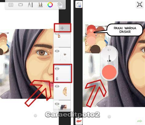 tutorial sketchbook android cara membuat mata dan alis tutorial edit foto vector vexel di aplikasi sketchbook android