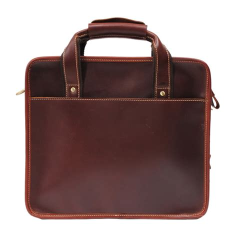 Handmade Laptop Bags - handmade leather briefcase leather messenger bag