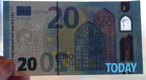 presidente della centrale europea in arrivo la nuova banconota da 20 quot ecco cosa cambia quot