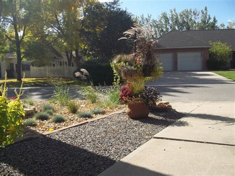 rock garden front yard david s front yard rock garden in colorado day 1 of 2 in
