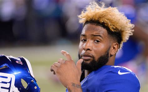 how does miguel do back of his hair odell beckham jr s hamstring ready is active monday