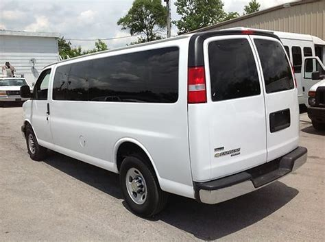 automobile air conditioning service 2011 chevrolet express free book repair manuals buy used 2011 chevy express lt 15 passanger van g3500 dual ac 33k miles warranty 1 ownr in