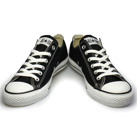 all sneakers converse all black canvas trainers sneakers shoes