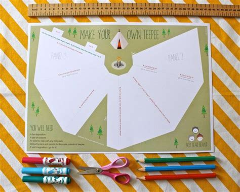 How To Make Teepee Out Of Paper - the world s catalog of ideas