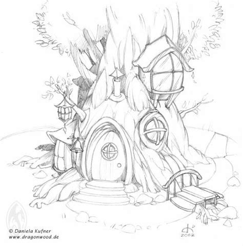 coloring pages tree house fairy tree house coloring pages google search digi