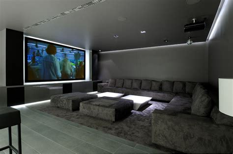 the living room theater modern house world of architecture ultra modern concrete house by a