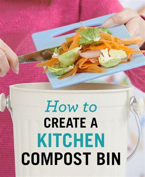 how to create a kitchen compost bin miscellaneous