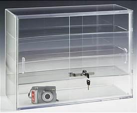 Cheap Acrylic Display Cabinet Jewelry Display W Sliding Doors