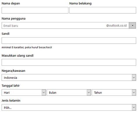membuat email microsoft account cara membuat email di hotmail microsoft account terbaru