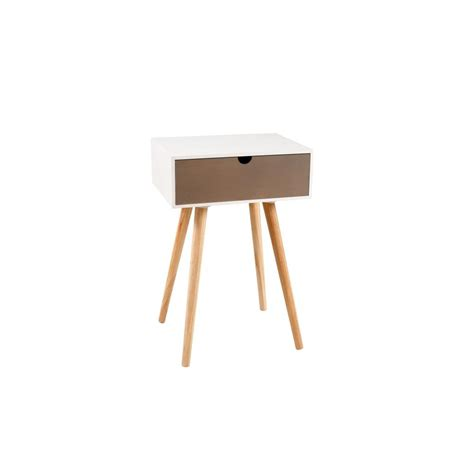 table de nuit scandinave table de chevet nordique