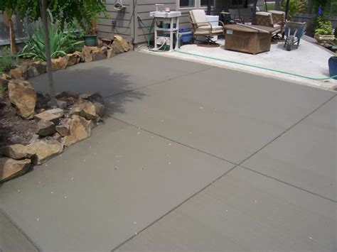 Cement For Patio by Premier Concrete Home