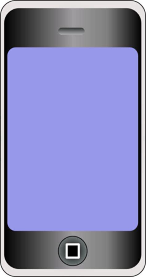 color wheel  mobile phone  big screen clipart
